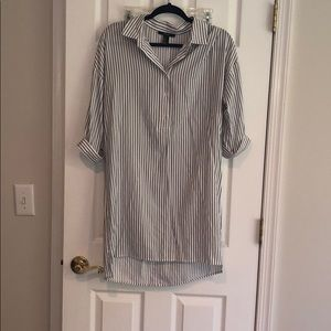 Forever 21 button up shirt dress